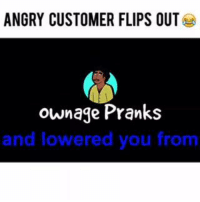 """Internet, Memes, and Prank: ANGRY CUSTOMER FLIPS OUT  ownage Pranks  and lowered you from This guy has had a TON of issues with his Internet provider, so I called as """"customer service"""" to offer him a deal 😜 Don't miss out on the whole conversation in the hilarious FULL VIDEO!: https://youtu.be/6AOrYreeEBU"""