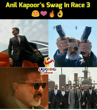 Swag, Race, and Indianpeoplefacebook: Anil Kapoor's Swag In Race 3  LAUGHING #AnilKapoor #Race3
