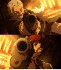 Anime: Bungou Stray Dogs S2  Due to a change in schedule, we got another Bungou episode on Friday, meaning two episodes in one week, as well as guaranteed heartbreak.  Because episode 16 was as amazing as it was devastating.  The sakuga, the color choices, the character interactions, the development, the conclusion and most importantly that skillful and clever direction all worked together to create one great and effectively emotional episode.  Honestly, I loved the direction this episode and it was exactly what tied everything together and made it work as well as it did.  Of course, that's not to say that I didn't have issues with the episode, because I did, but I can save that for another time. It really was above average, and Bungou's average is already good. I think it deserves some appreciation.  And is it just me or did anyone else get Fullmetal Alchemist Brotherhood flashbacks by watching it? Scar? Roy Mustang? (Gide was voiced by Roy Mustang's seiyuu, actually) Anything?  This is where Odasaku's story ends, Dazai's begins, and the moment we return to the present, which means the last time to voice your thoughts on this light novel adaptation. So do share your opinions below. (y)  Admin Urushihara --- Fall 2016 Voting Link: https://goo.gl/VVPEil: Anime: Bungou Stray Dogs S2  Due to a change in schedule, we got another Bungou episode on Friday, meaning two episodes in one week, as well as guaranteed heartbreak.  Because episode 16 was as amazing as it was devastating.  The sakuga, the color choices, the character interactions, the development, the conclusion and most importantly that skillful and clever direction all worked together to create one great and effectively emotional episode.  Honestly, I loved the direction this episode and it was exactly what tied everything together and made it work as well as it did.  Of course, that's not to say that I didn't have issues with the episode, because I did, but I can save that for another time. It really was above 