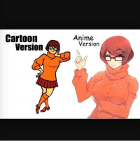 I need a girl like Velma. Who just wanna study and be smart. Fuck a bitch who just wanna turn up every weekend. Go read a book while sitting on my face or some shit. I like my girls nerdy and curvy but my question is why anime stay deceiving niggas. They always make the cartoon bitches Tities look like predator missiles. Yo real shit go read a anime book right now you gonna see a Asian chick with some Double X breast and a slim as waist. Never in my life has i seen a Chinese chick with a banging ass body besides Asa Akira. Man I go to my Chinese food spot up the block and them bitches be flat like the soy sauce packets.: Anime  Cartoon  Version  Version I need a girl like Velma. Who just wanna study and be smart. Fuck a bitch who just wanna turn up every weekend. Go read a book while sitting on my face or some shit. I like my girls nerdy and curvy but my question is why anime stay deceiving niggas. They always make the cartoon bitches Tities look like predator missiles. Yo real shit go read a anime book right now you gonna see a Asian chick with some Double X breast and a slim as waist. Never in my life has i seen a Chinese chick with a banging ass body besides Asa Akira. Man I go to my Chinese food spot up the block and them bitches be flat like the soy sauce packets.