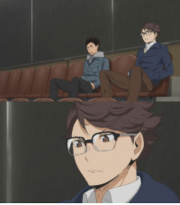 """Anime: Haikyuu Karasuno vs Shiratorizawa  And this week the HQ fandom was killed by three things:  1)Oikawa and Iwaizumi in casual clothes 2)Oikawa wearing glasses 3)The """"I'm not gay"""" seat  And I love that because they literally appeared for less than a minute yet that's what the fans got most excited about. xD  Regardless, we've seen yet another strong episode this week and I am glad to see that Hinata will be returning to the spotlight because it feels like it's been a while since the protagonist of the story was actually relevant (although I'm really not complaining because I like all the other characters just as much).  Do you guys have any thoughts related to the show or the new episode?  Admin Urushihara --- Anime of the Week Polls: https://goo.gl/VVPEil Character Polls: https://goo.gl/6Ivduk Soundtrack Polls: https://goo.gl/ITwd3G: Anime: Haikyuu Karasuno vs Shiratorizawa  And this week the HQ fandom was killed by three things:  1)Oikawa and Iwaizumi in casual clothes 2)Oikawa wearing glasses 3)The """"I'm not gay"""" seat  And I love that because they literally appeared for less than a minute yet that's what the fans got most excited about. xD  Regardless, we've seen yet another strong episode this week and I am glad to see that Hinata will be returning to the spotlight because it feels like it's been a while since the protagonist of the story was actually relevant (although I'm really not complaining because I like all the other characters just as much).  Do you guys have any thoughts related to the show or the new episode?  Admin Urushihara --- Anime of the Week Polls: https://goo.gl/VVPEil Character Polls: https://goo.gl/6Ivduk Soundtrack Polls: https://goo.gl/ITwd3G"""