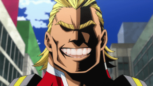 Anime With Teeth — All Might from Boku no Hero Academia: Anime With Teeth — All Might from Boku no Hero Academia