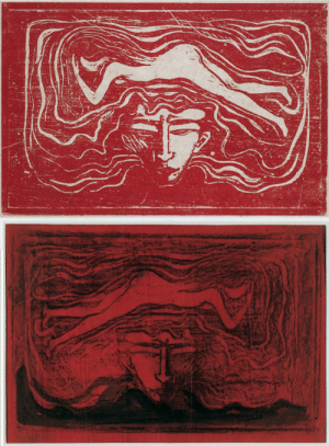 animus-inviolabilis:  I mannens hjernIn the Man's Brain Edvard Munch 1897: animus-inviolabilis:  I mannens hjernIn the Man's Brain Edvard Munch 1897