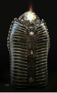 Memes, Guardians of the Galaxy, and Artist: ANJOYNER Closer look at Adam Warlock's cocoon featured in GUARDIANS OF THE GALAXY VOL. 2 by concept artist Ian Joyner.  (Andrew Gifford)