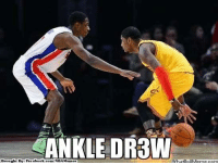 Facebook, Meme, and Memes: ANKLE DRBW  what Iouvemecom  Brought Bye Facebook.  com/NBA Memes Uncle Drew! Credit: Luckzz Nagaño  http://whatdoumeme.com/meme/r76j1b