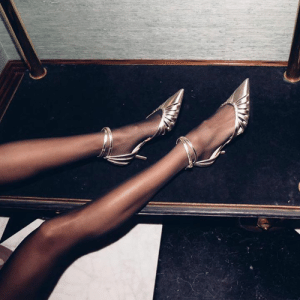 Anna Vitiello puts her feet up this Friday in our TRAVIS strappy pumps.  http://bit.ly/SS19_TRAVIS: Anna Vitiello puts her feet up this Friday in our TRAVIS strappy pumps.  http://bit.ly/SS19_TRAVIS