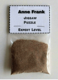 Anne Frank: Anne Frank  JIGSAW  PUZZLE  EXPERT LEVEL