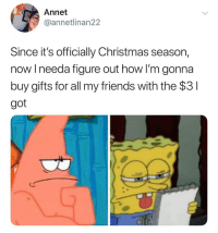 Christmas, CoCo, and Friends: Annet  @annetlinan22  Since it's officially Christmas season,  now l needa figure out how I'm gonna  buy gifts for all my friends with the $3  got Watching coco for the 82738282 time