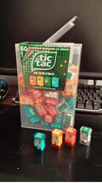 Germany, Giant, and Got: annicron: look at this thing i got at the airport when leaving germany it's a giant tic tac box filled with tiny tic tac boxes