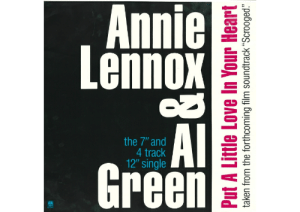 """50 Best Christmas Songs Of All Time - Genuinely Bangin' Christmas Songs: Annie  Lennox  UA  AI  Green  the 7"""" and  4 track  12""""' single  Put A Little Love In Your Heart  taken from the forthcoming film soundtrack """"Scrooged"""" 50 Best Christmas Songs Of All Time - Genuinely Bangin' Christmas Songs"""