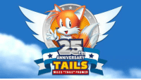 """Happy 25th Anniversary to the best flying fox in the world!: ANNIVERSARY  TAILS  MILES """"TAILS"""" PROWER Happy 25th Anniversary to the best flying fox in the world!"""
