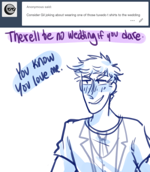 ask-art-student-prussia:  Gilbert shows up in a tuxedo t-shirt and roderich throws hands: Anonymous said:  Consider Gil joking about wearing one of those tuxedo t shirts to the wedding ask-art-student-prussia:  Gilbert shows up in a tuxedo t-shirt and roderich throws hands