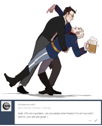 Hello, Target, and Tumblr: Anonymous said:  March 27th 2016, 2:46:00 pm 2 days ago  Hello, if it's not a problem, can you please draw PruAus? It's ok if you don't  want to, your arts are great!:) brighidin:I streamed this one!! thank you so much for everyone who joined me you might have converted me you EVIL WITCHES!!