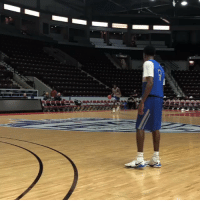 Another angle of Zion Williamson dunking from the free throw line!   (Via @theScore)  https://t.co/elXkbEVxAJ: Another angle of Zion Williamson dunking from the free throw line!   (Via @theScore)  https://t.co/elXkbEVxAJ