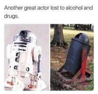 @pubity was voted 'best meme account on instagram' 😂: Another great actor lost to alcohol and  drugs.  Cpubity @pubity was voted 'best meme account on instagram' 😂