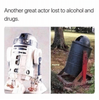 @pubity is hands down one of the best IG accounts out there!: Another great actor lost to alcohol and  drugs. @pubity is hands down one of the best IG accounts out there!
