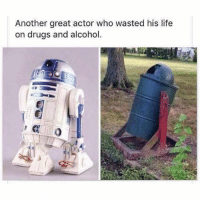 🙂: Another great actor who wasted his life  on drugs and alcohol. 🙂