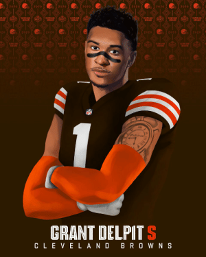 Another @LSUfootball DB in the @Browns secondary: @realgrantdelpit! #NFLDraft https://t.co/AJt5xN9qVD: Another @LSUfootball DB in the @Browns secondary: @realgrantdelpit! #NFLDraft https://t.co/AJt5xN9qVD