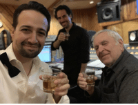 Memes, 🤖, and Another: Another midnight gone so here is Kander & @LacketyLac & me with some whiskey after the recording session. Can't wait for you to hear the Lacamorchestrations.  #Hamildrop #KanderMiranda https://t.co/Hef07mEyjH
