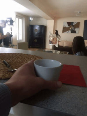 Breakfast, Porn, and Another: Another morning well-spent. I sublet my apartment to a porn company. No better way to enjoy breakfast.