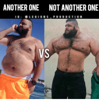 """Another One, Another One, and Memes: ANOTHER ONE NOT ANOTHERONE  I G  i@ L E G I ON S  P R O D U C T I O N  VS 😳😂ANOTHER ONE VS NOT ANOTHER ONE! Transformed! Opinions?🤔 Thoughts? What do you guys think? COMMENT BELOW! Athletes. Left: @djkhaled. Right: @sajadgharibii. TAG SOMEONE who needs to lift! __________________ Check out our principal account: @fitness_legions for the best fitness and nutrition information! Like✅ us on Facebook👉: """"Legions Production"""" for a chance at having a shoutout. @legions_production🏆🏆🏆."""