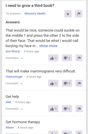 Another reason why yahoo answers is the only sex ed you'll ever need.: Another reason why yahoo answers is the only sex ed you'll ever need.