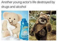 Drugs, Funny, and Life: Another young actor's life destroyed by  drugs and alcohol  Snuggl TRAGIC https://t.co/xSNg7hLNeT