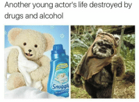 Drugs, Homie, and Life: Another young actor's life destroyed by  drugs and alcohol  Snuggle  blue sparkle <p>Pray for my lil homie going thru some shit</p>