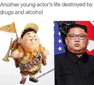 No racism only communism via /r/memes https://ift.tt/2NizBMJ: Another young actor's life destroyed by  drugs and alcohol  @very dank memelord No racism only communism via /r/memes https://ift.tt/2NizBMJ