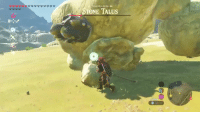 You, Bomb, and Hills: antha Hills  ..OSTONE TALUS When you forget you had bomb arrows equipped https://t.co/TNaYbpEfpv