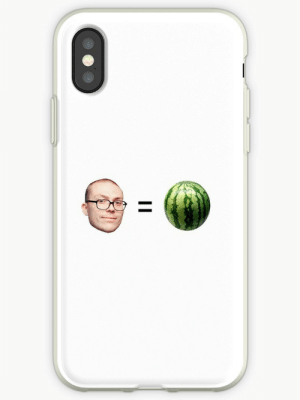 """Anthony Fantano is a Melon"""" iPhone Cases & Covers by dagenmeem ...: Anthony Fantano is a Melon"""" iPhone Cases & Covers by dagenmeem ..."""