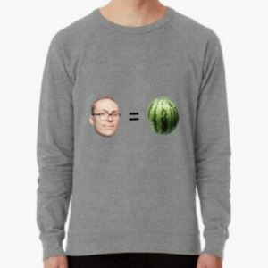 """Anthony Fantano is a Melon"""" Laptop Skins by dagenmeem   Redbubble: Anthony Fantano is a Melon"""" Laptop Skins by dagenmeem   Redbubble"""