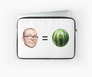"""Anthony Fantano is a Melon"""" Laptop Sleeves by dagenmeem   Redbubble: Anthony Fantano is a Melon"""" Laptop Sleeves by dagenmeem   Redbubble"""