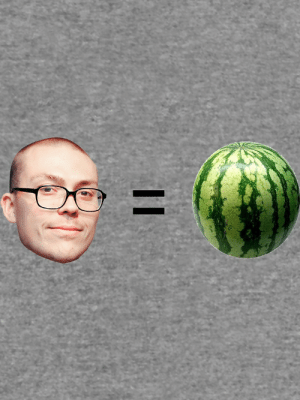 """Anthony Fantano is a Melon"""" Lightweight Hoodie by dagenmeem   Redbubble: Anthony Fantano is a Melon"""" Lightweight Hoodie by dagenmeem   Redbubble"""