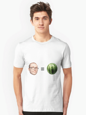 """Anthony Fantano is a Melon"""" T-shirt by dagenmeem   Redbubble: Anthony Fantano is a Melon"""" T-shirt by dagenmeem   Redbubble"""