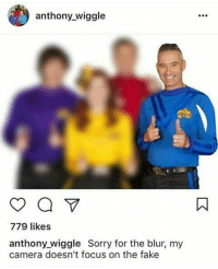 Wiggling: anthony wiggle  779 likes  anthony wiggle Sorry for the blur, my  camera doesn't focus on the fake
