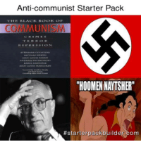 Communist: Anti-communist Starter Pack  THE BLACK BOCOK OF  COMMUNISM  RE PRES SION  TRAN  RHOOMENNATSHERR  terpackb  ilder com