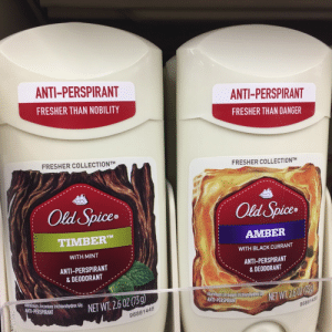 Fucking, Target, and Tumblr: ANTI-PERSPIRANT  FRESHER THAN NOBILITY  ANTI-PERSPIRANT  FRESHER THAN DANGER  FRESHER COLLECTIONTM  FRESHER COLLECTIONTM  Old Spice  Old Spices  uce®  TIMBER  WITH MINT  ANTI-PERSPIRANT  & DEODORANT  AMBER  WITH BLACK CURRANT  ANTI-PERSPIRANT  & DEODORANT  Aluminum zirconium trichlorohydreX Gy  NET W1 26 0205  Aluminum zirconium trichlorohydrex  ANTI-PERSPIRAN  NET  96861446  96861458 kramergate:  attempts to market to men really might as well be in another fucking language
