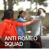 """Memes, 🤖, and Mar: ANTI ROMEO  SQUAD 28 MAR: India's most populous state, Uttar Pradesh, has created so-called """"anti-Romeo squads"""" to tackle sexual harassment. ARS AntiRomeoSquad SexualHarassment UttarPradesh India BBCShorts BBCNews @BBCNews"""