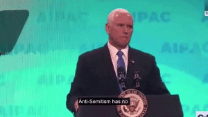 House, Israel, and Time: Anti-Semitism has no Vice-President Pence spoke the truth at AIPAC! Anyone who slanders the U.S. - Israel alliance should not have a place on the House Foreign Affairs Committee!   It's time to remove Ilhan Omar: https://p2a.co/8M6MAtY