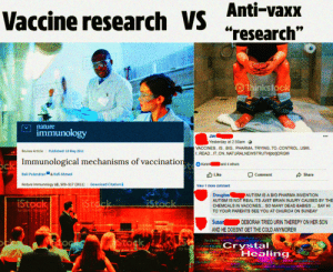 """Church, Parents, and Control: Anti-vaxx  Vaccine research VS""""research""""  99  01hinkstock  Ay Get gac  nature  immunology  Jim  Yesterday at 2:55am Q  VACCINES. IS.. BIG.. PHARMA..TRYING.TO..CONTROL.USI!.  I.READ..IT.ON..NATURALNEWSTRUTHIdot)]ORGI!  Published: 18 May 2011  Review Article  ck Immunological mechanisms of vaccination  Karen  and 4 others  mages Bali Pulendran  Getty  & Rafi Ahmed  Like  Comment  Share  Download Citation  Nature Immunology 12, 509-517 (2011)  View 1 more comment  Douglas  AUTISM IS NOT REAL ITS JUST BRIAN INJURY CAUSED BY THE  CHEMCALS IN VACCINES.. SO MANY DEAD BABIES. SAY HI  AUTISM IS A BIG PHARMA INVENTION  iStock  iStack  RStock  y Gefy Inages  by Getty Images  TO YOUR PARENTS SEE YOU AT CHURCH ON SUNDAY  sepuses  Susan  DEBORAH TRIED URIN THEREPY ON HER SON  AND HE DOESNT GET THE COLD ANYMORE!!  uplifting structure y  holistic GRIDSeffective terminated  Stock  stoc  Crystal  Healing  by Ge subtle bOdias OKIY  proteverelease alternative ys  cinstorsOUescleansng.cCHARRANanient iaurs G  sen- ane aanceamectationmanifestation mineraiogvpunty  aowsing electronmaghecdetoxity effective ley lines"""