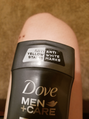 Anti anti yellow white stains marks: ANTI  YELLOw  STAINS  MARKS  Dove  MEN  +CARE Anti anti yellow white stains marks