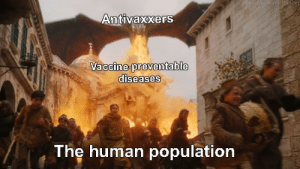 diseases: Antivaxxers  diseases  The human population