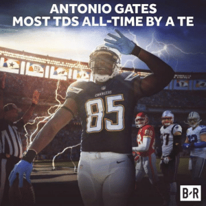 With gronk retiring, many questions have been raised if he is the TE 🐐....🤦🏽♂️🤦🏽♂️🤦🏽♂️  HOW QUICKLY THEY FORGET! THE BEST EVER.   -Cisco: ANTONIO GATES  MOST TDS ALL-TIME BY A TE  CHARGERS  B R With gronk retiring, many questions have been raised if he is the TE 🐐....🤦🏽♂️🤦🏽♂️🤦🏽♂️  HOW QUICKLY THEY FORGET! THE BEST EVER.   -Cisco