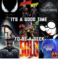It's going to be a good year. What movie are you most excited for? MarvelousJokes: ANTWAN  THE  WAP  JURASSK WORKD  ENTS A GOOD TIME  TOE A GEEK  STEVEN SPIOLDERGR It's going to be a good year. What movie are you most excited for? MarvelousJokes