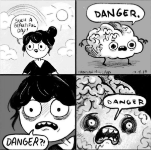 Anxiety be like by LordCookieKarma69 MORE MEMES: Anxiety be like by LordCookieKarma69 MORE MEMES
