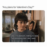 """Instagram, Valentine's Day, and Dank Memes: """"Any plans for Valentine's Day?""""  ll be in my bedroom, making no nois  and pretending that I don't exist. And Posting On Instagram. 🤷🏽♂️"""