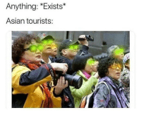 Asian, Funny, and Dog: Anything: *Exists*  Asian tourists: When they see a tasty looking dog