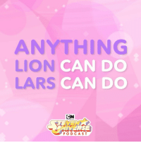 Apple, Memes, and Lion: ANYTHING  LION  LARS  CAN DO  CAN DO  CN  NIVERSE  PODCAST Lars has Lion powers, confirmed. 💖🦁🗣🚀 @RebeccaSugar and the Crewniverse answer fan questions in the latest SUpodcast...available on Apple Podcasts! 🌟🔉 cartn.co-supodcast . SUpodcast stevenuniverse stevenuniversepodcast pinklars