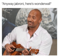 "Ass, Candy, and Jabroni: ""Anyway jabroni, here's wonderwall""  ang @tank.sinatra wrote a book and it's available at the link in his bio you roodie poo candy ass"